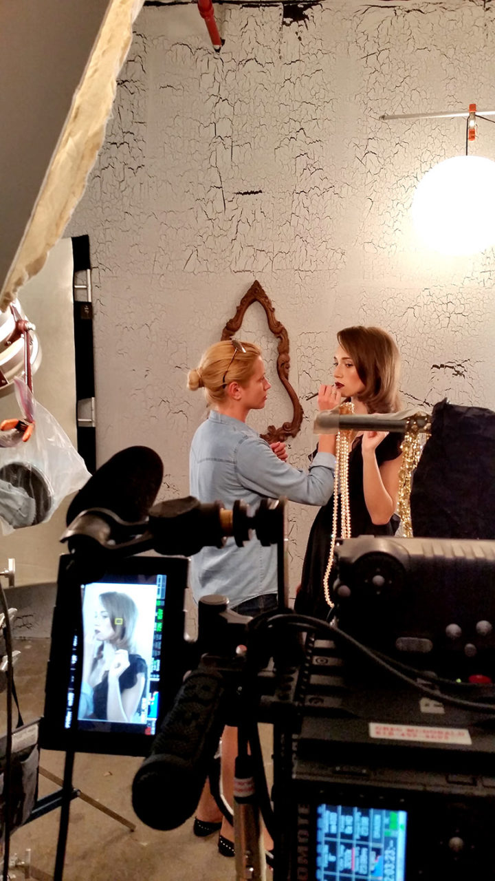 dread fashion film behind the scenes