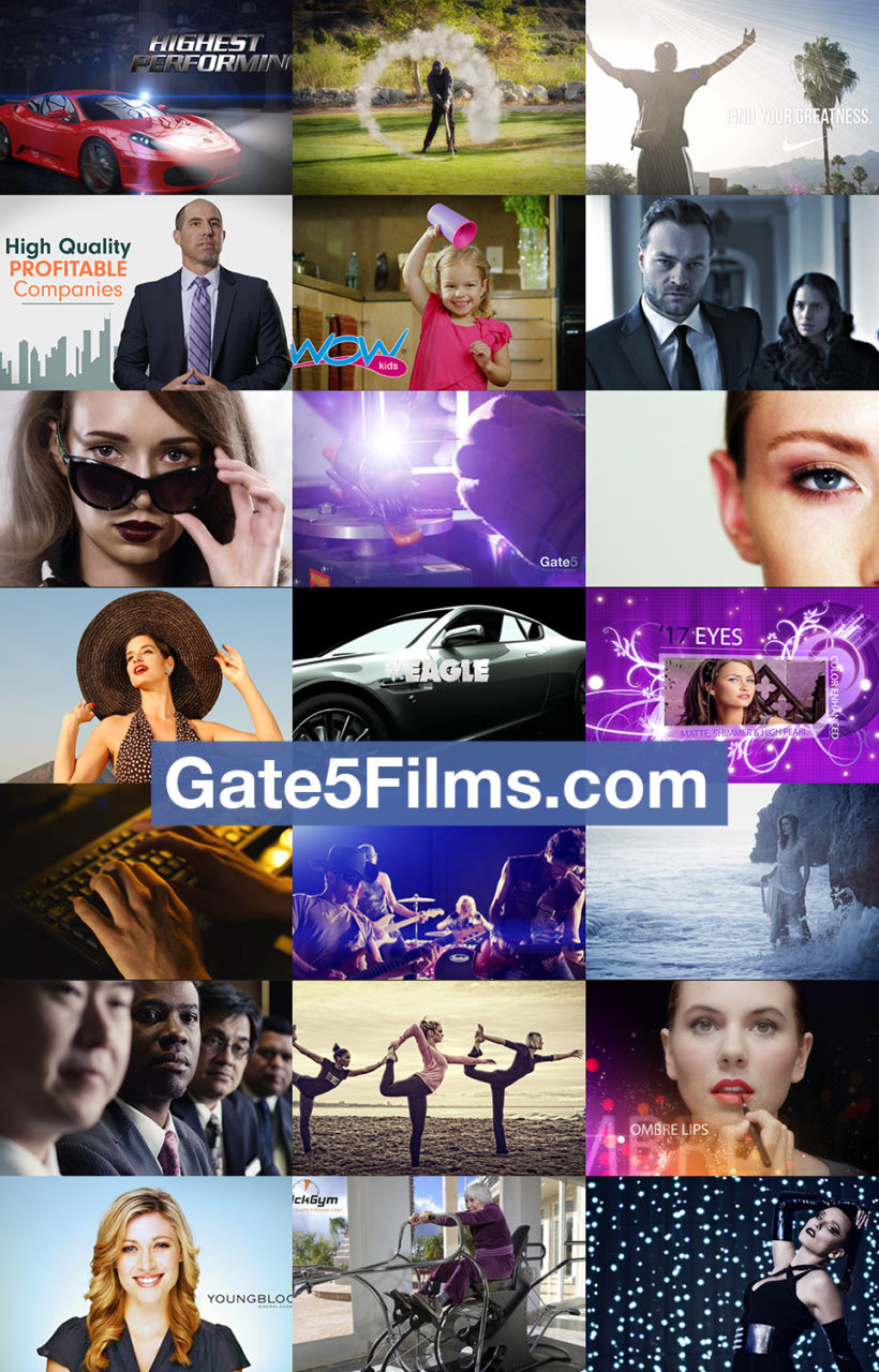 commercial video production gate5