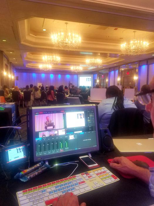 multi camera event feed