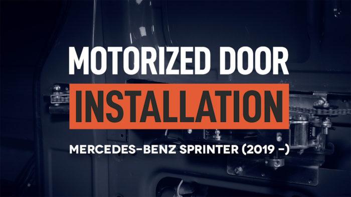 installation training video for van customization